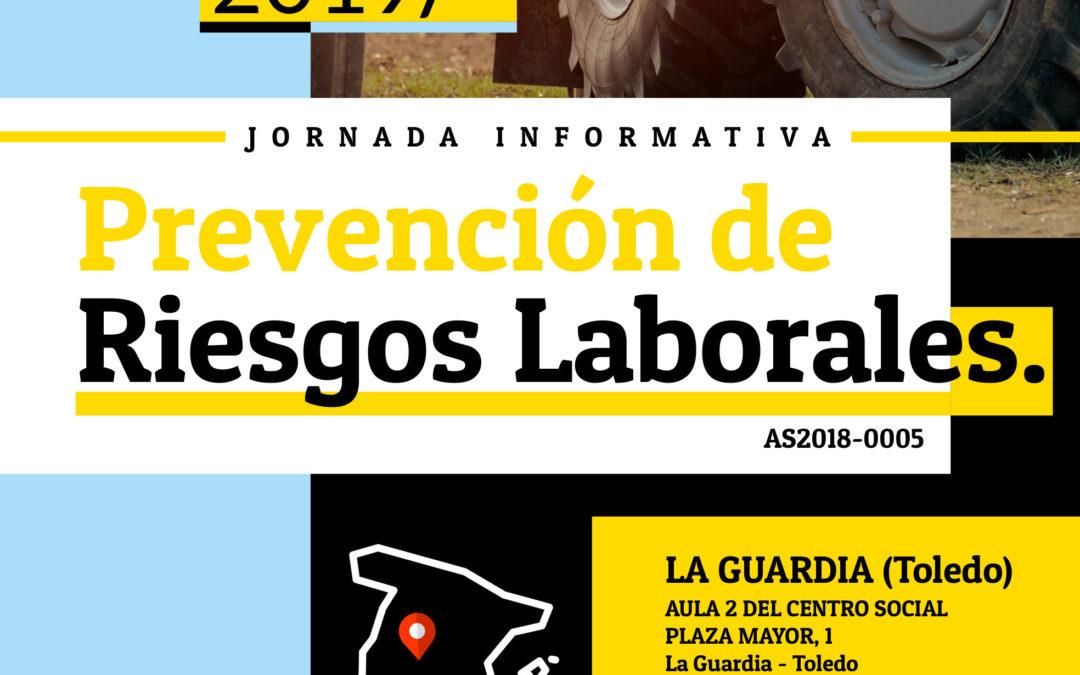 Asaja organiza una jornada informativa sobre Prevención de Riesgos Laborales en Toledo 10/12/2019