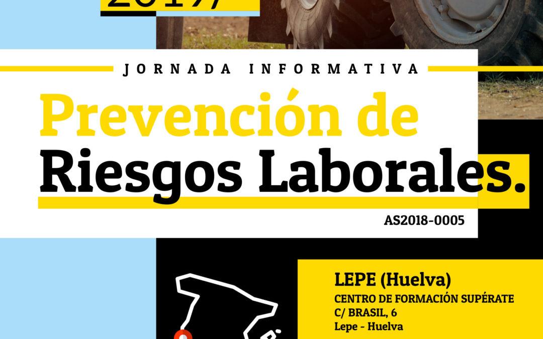 Asaja organiza una jornada informativa sobre Prevención de Riesgos Laborales en Huelva 10/12/2019