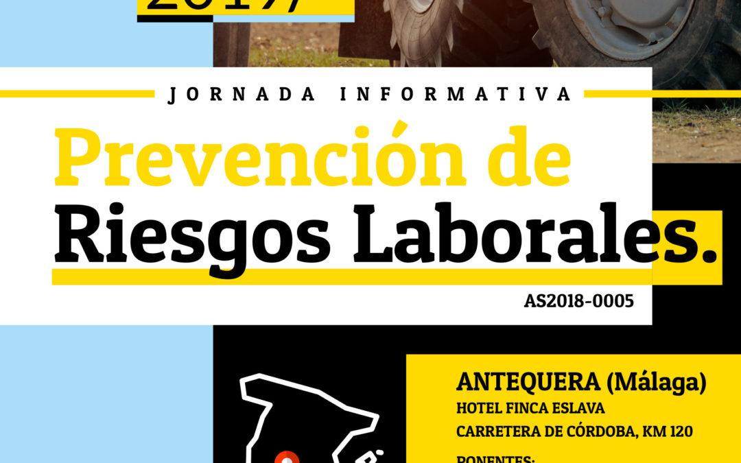 Asaja organiza una jornada informativa sobre Prevención de Riesgos Laborales en Málaga 17/12/2019