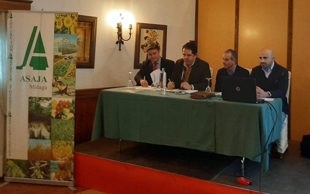 Asaja Málaga promueve la importancia de la Prevención de Riesgos Laborales
